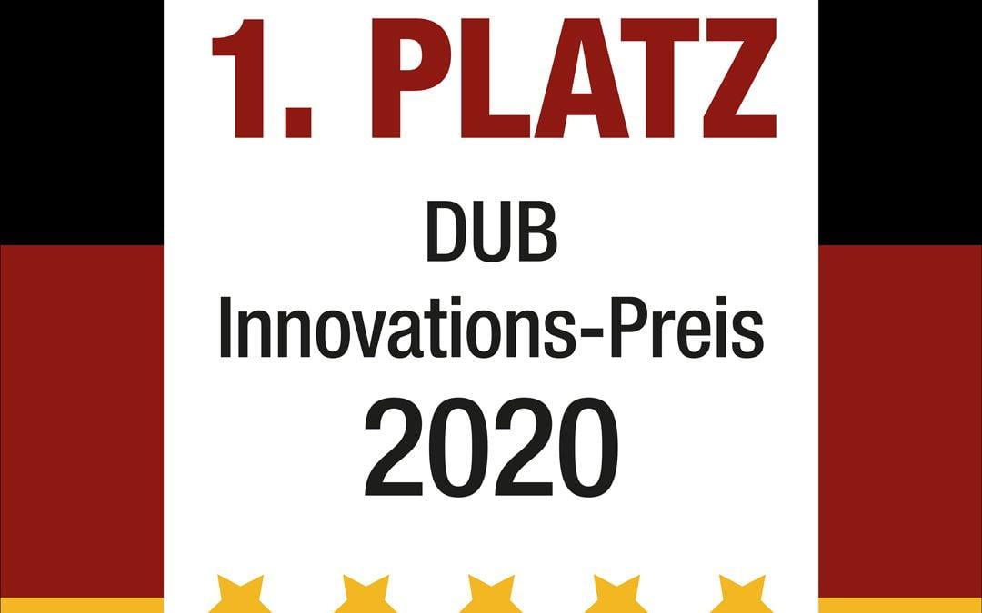 DUB Innovations Preis 2020: